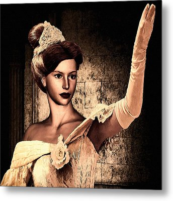 Cinderella Metal Print by Lourry Legarde