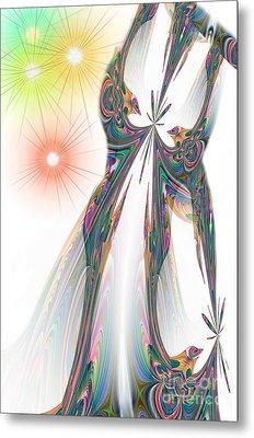 Cinderella's Wedding Night Metal Print by Maria Urso