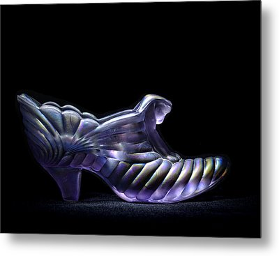 Cindy's Slipper Metal Print