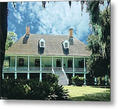 Circa 1750 Parlange Plantation New Roads La Metal Print