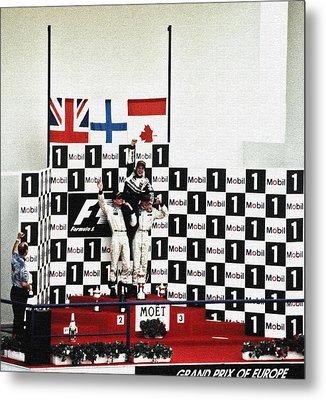 Circuito De Jerez 1997 Metal Print by Juergen Weiss