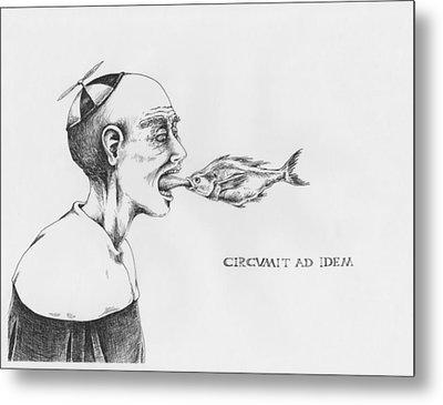 Circumit Ad Idem Metal Print by Canis Canon