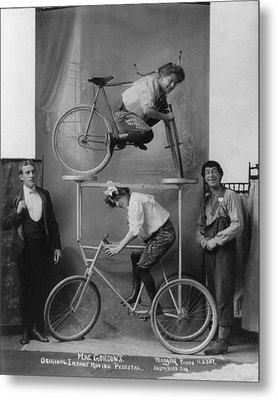Circus And Vaudeville Acts, A Woman Metal Print