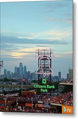 Citizens Bank Park 1 Metal Print by See Me Beautiful Photography