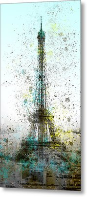City-art Paris Eiffel Tower II Metal Print