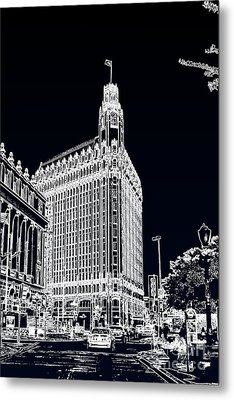 Metal Print featuring the photograph City Center  by Joe Finney