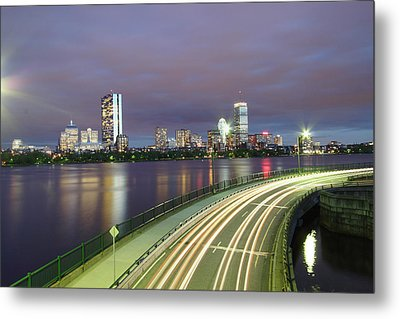 City Flow Metal Print by Eric Hill