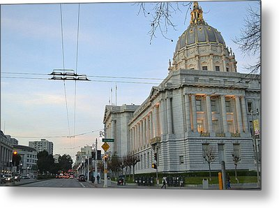 Metal Print featuring the photograph City Hall San Francisco by Rima Biswas