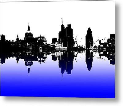 City Of Culture Metal Print by Sharon Lisa Clarke