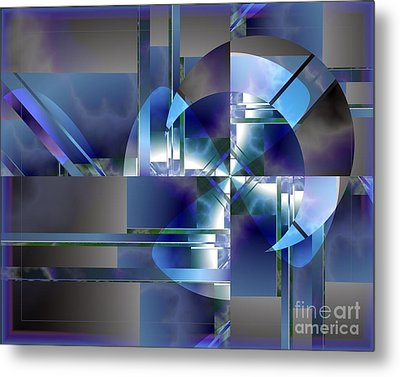 City Of Industry Metal Print by Michelle H