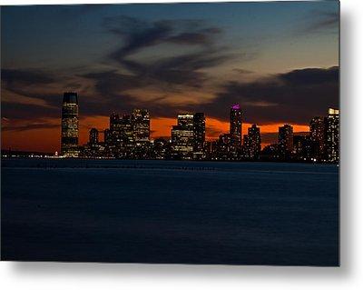 City Skies Metal Print by Michael Murphy