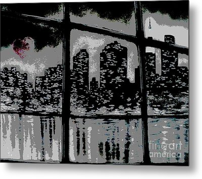 City View Metal Print by Carla Carson