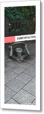 Citymarks Stockholm Metal Print by Roberto Alamino
