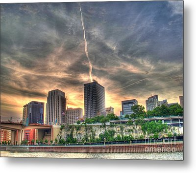 Cityscape Metal Print by Jimmy Ostgard