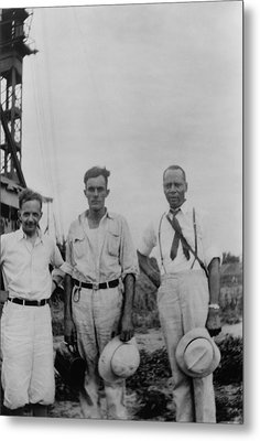 Civil Rights Leaders, Walter White Metal Print by Everett