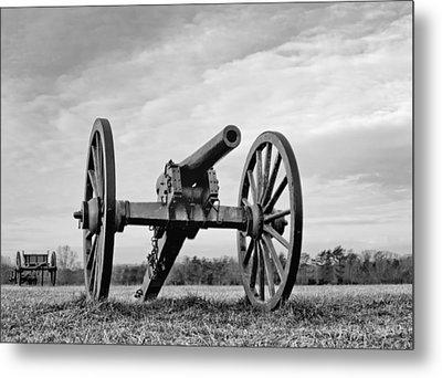 Civil War Canon - Manassas Battlefield - Virginia Metal Print by Brendan Reals