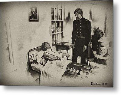 Civil War Hospital Metal Print by Bill Cannon