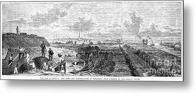 Civil War: Savannah, 1863 Metal Print by Granger