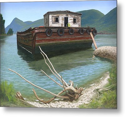 Claims Of Time Metal Print by Glen Heberling