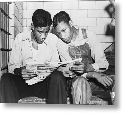 Clarence Norris And Charley Weems, Two Metal Print by Everett