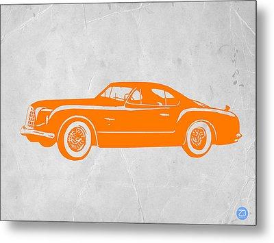 Classic Car 2 Metal Print by Naxart Studio