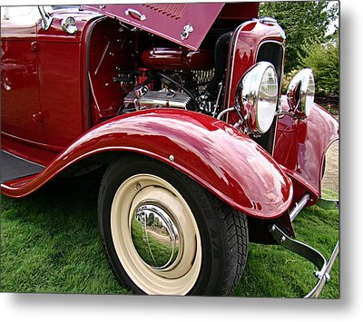 Metal Print featuring the photograph Classic Ford by Nick Kloepping