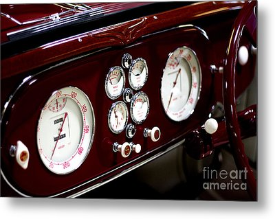 Classic Gauges Metal Print by Jason Abando