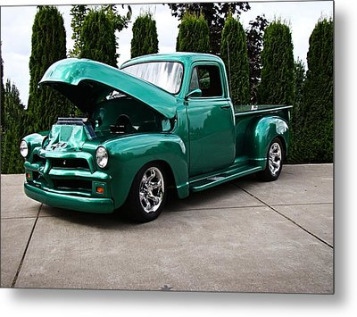 Metal Print featuring the photograph Classic Pickup by Nick Kloepping