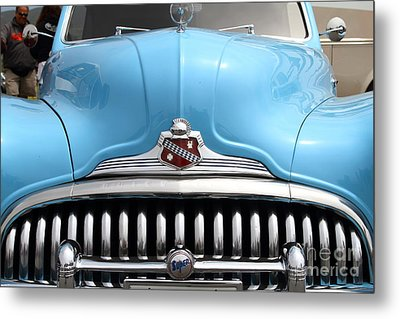 Classic Super Eight Grille 7d15155 Metal Print by Wingsdomain Art and Photography
