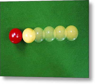 Classical Mechanics Metal Print by Andrew Lambert Photography