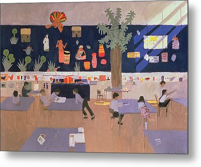 Classroom Metal Print by Andrew Macara