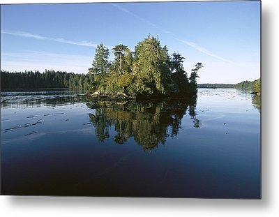 Clayoquot Sound Vancouver Island Metal Print by Flip Nicklin