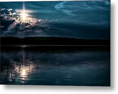 Clear Blue Metal Print by Gary Smith