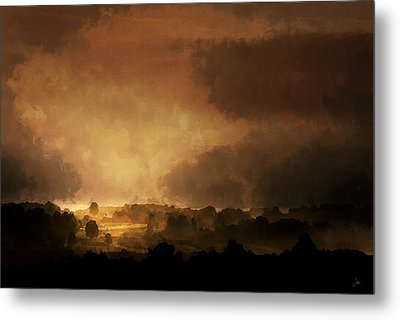 Clearing Storm Metal Print by Ron Jones