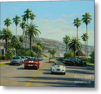 Cliff Drive Laguna Metal Print by Frank Dalton