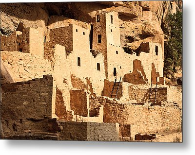 Cliff Palace Metal Print by Adam Pender