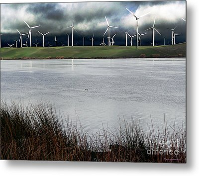 Climate Changed Storm Metal Print