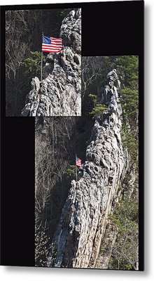 Climb To Great Heights Metal Print by Elisia Cosentino