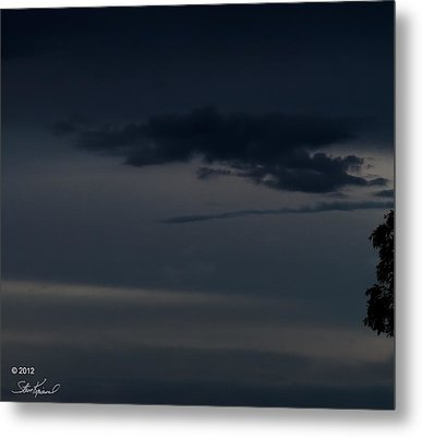 Cloaking Up The Enterprise Metal Print by Steve Knievel