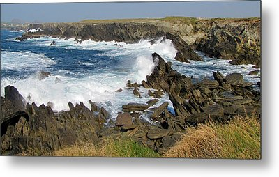 Metal Print featuring the photograph Clogher by Barbara Walsh