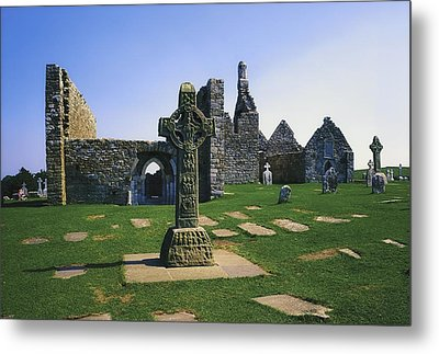 Clonmacnoise, Co Offaly, Ireland, West Metal Print by The Irish Image Collection