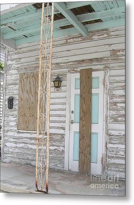 Metal Print featuring the photograph Closed by Arlene Carmel