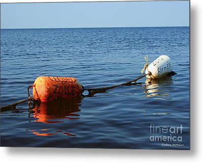 Metal Print featuring the photograph Closed by Barbara McMahon