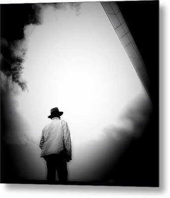 Cloud Cowboy - Concrete Jungle Metal Print by Robbert Ter Weijden