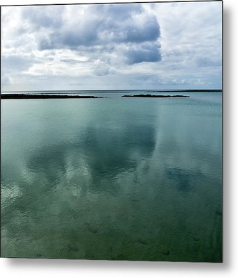 Cloud Reflections Metal Print by Kimberly Jansen Photography