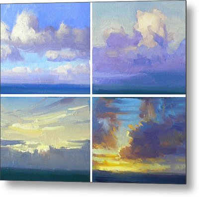 Cloud Studies Metal Print by Richard Robinson