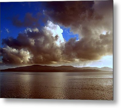 Metal Print featuring the photograph Clouds by Irina Hays