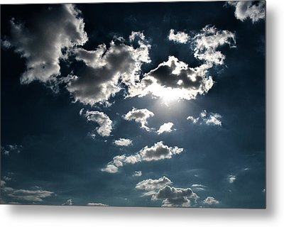 Clouds On A Sunny Day Metal Print by Sumit Mehndiratta