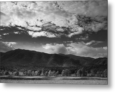 Clouds Over Cades Cove Metal Print by Andrew Soundarajan