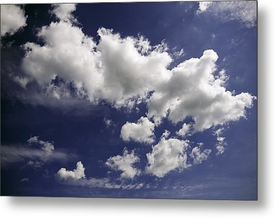 Metal Print featuring the photograph Clouds by Paul Plaine